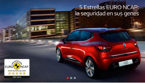 Clio Seguridad Euro NCAP