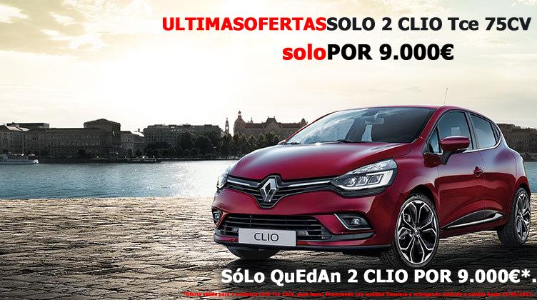 Oferta CLIO fin de marzo