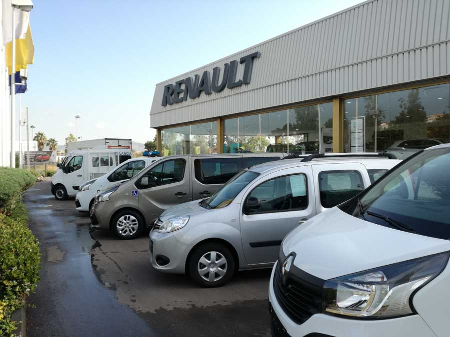 Presentación vehículos comerciales